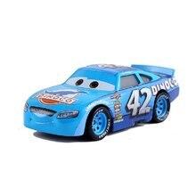 Disney Pixar coches 3 coches 2 No.42 Cal Weathers de Metal Diecast coche de juguete 1:55 Rayo McQueen suelto nueva marca en Stock