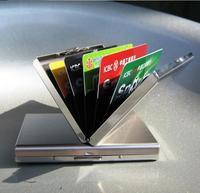 10 pcs RFID Blocking Wallet ID Card Protector Men Women Security Wallets Slim Designer Pocket Sleeves Case Aluminum Metal