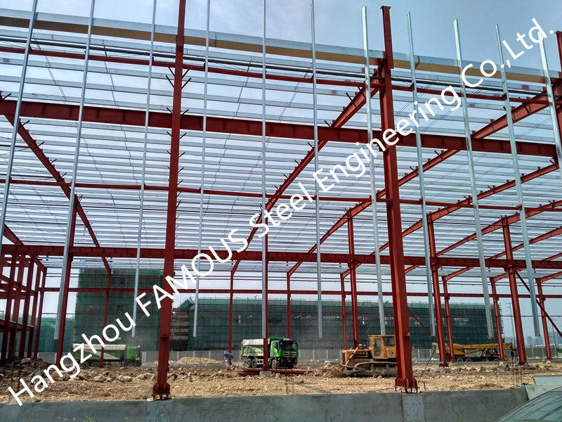 Chinese Supplier Modern Assembly Industrial Steel Structure Building For Commercial Shopping Mall