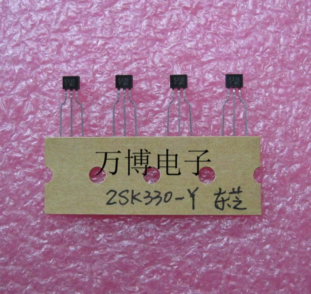 2018 hot sale 10PCS 30pcs japan 2SK330 Y K330 2SK330 The golden voice Audio electronics free shipping in Diodes from Electronic Components Supplies