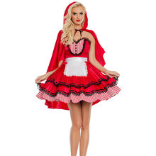 Для женщин костюм на Хэллоуин «Красная Шапочка» сексуальный