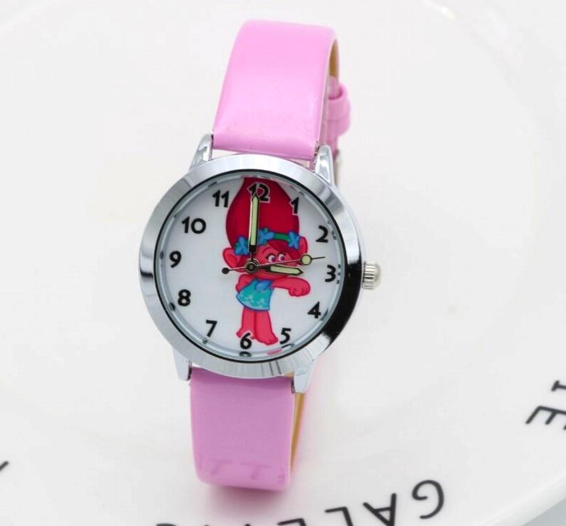 New fashion troll Watches Children 2017 Kids Boys gril gift Watch Casual Quartz Wristwatch Relogio Relojes