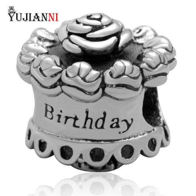 Aliexpresscom Buy New Style 925 Sterling Silver Happy Birthday