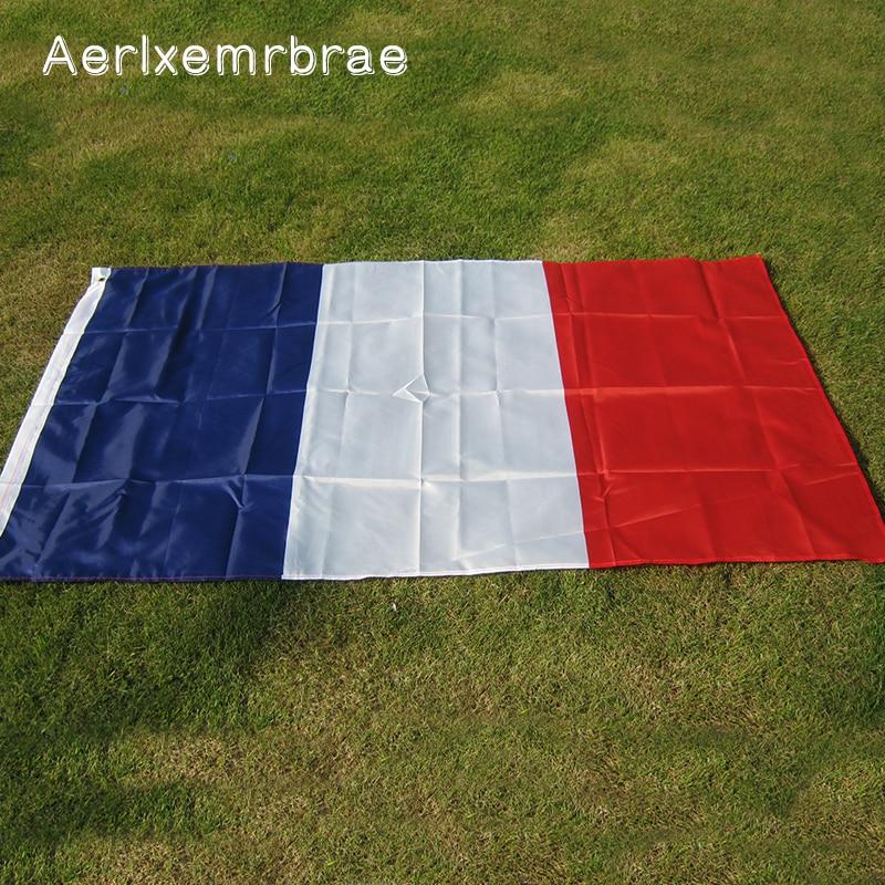 Aerlxemrbrae Flag  France Banner Flag 90*150cm 60*90cm    National Polyster French  Flag