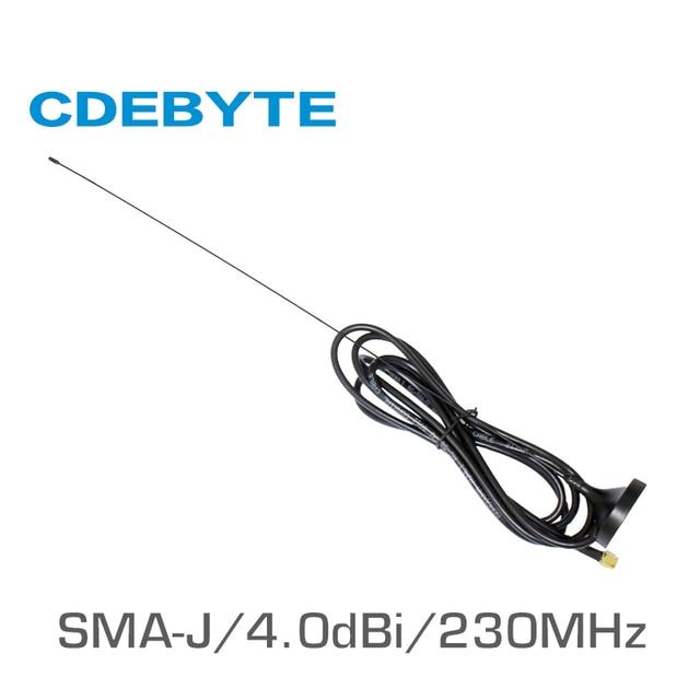 TX230 XP 200 230 ميجا هرتز SMA J واجهة 50 أوم مقاومة أقل من 1.5 SWR 4.0dBi مكاسب عالية الجودة هوائي مصاصة