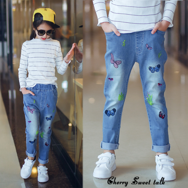 Popular Girls Embroidered Jeans-Buy Cheap Girls Embroidered Jeans ...