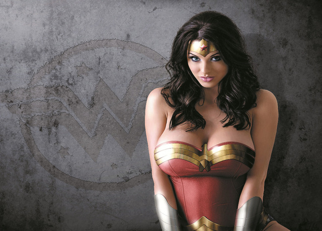 24x36 Ch Alice Goodwin Wonder Woman Silk Cloth Poster