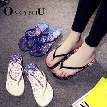 shoes woman sandals women slippers Non-slip beach shoes fashion new 2019 summer plus size flats ladies flip flops bathroom shoe new summer leisure leaf women flip flops shoes flame beach ladies flats sandals silver red black