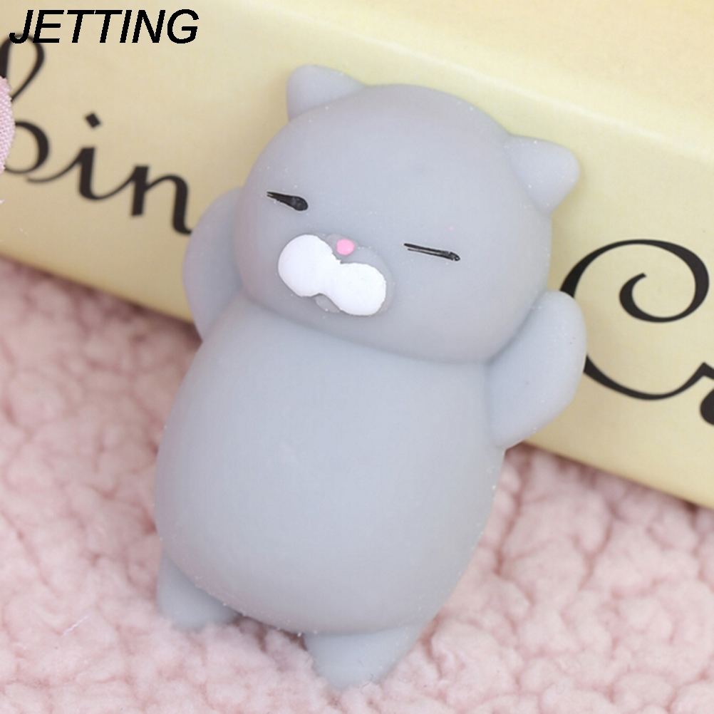 Animals Models Cute Mini Soft Silicone   Toy Fidget Hand Squeeze Pinch Cell Phone Accessories Slow Rising Press