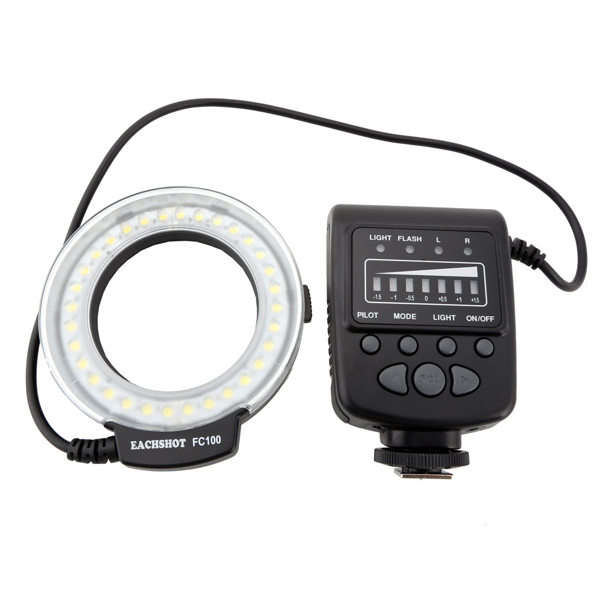 Meike FC 100 FC100 Macro Ring Flash Light MK FC 100 for Canon for EOS 650D