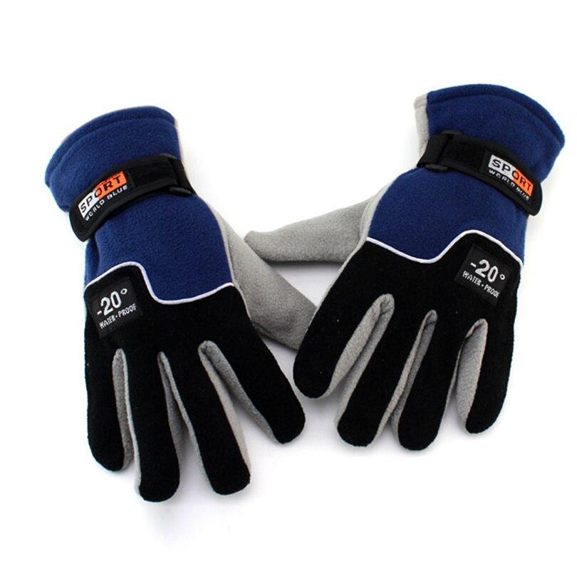 Outdoor Sports Fleece Gloves Tactical Mittens,Men Women Winter Keep Warm Hiking Military Motorcycle Skiing Glove