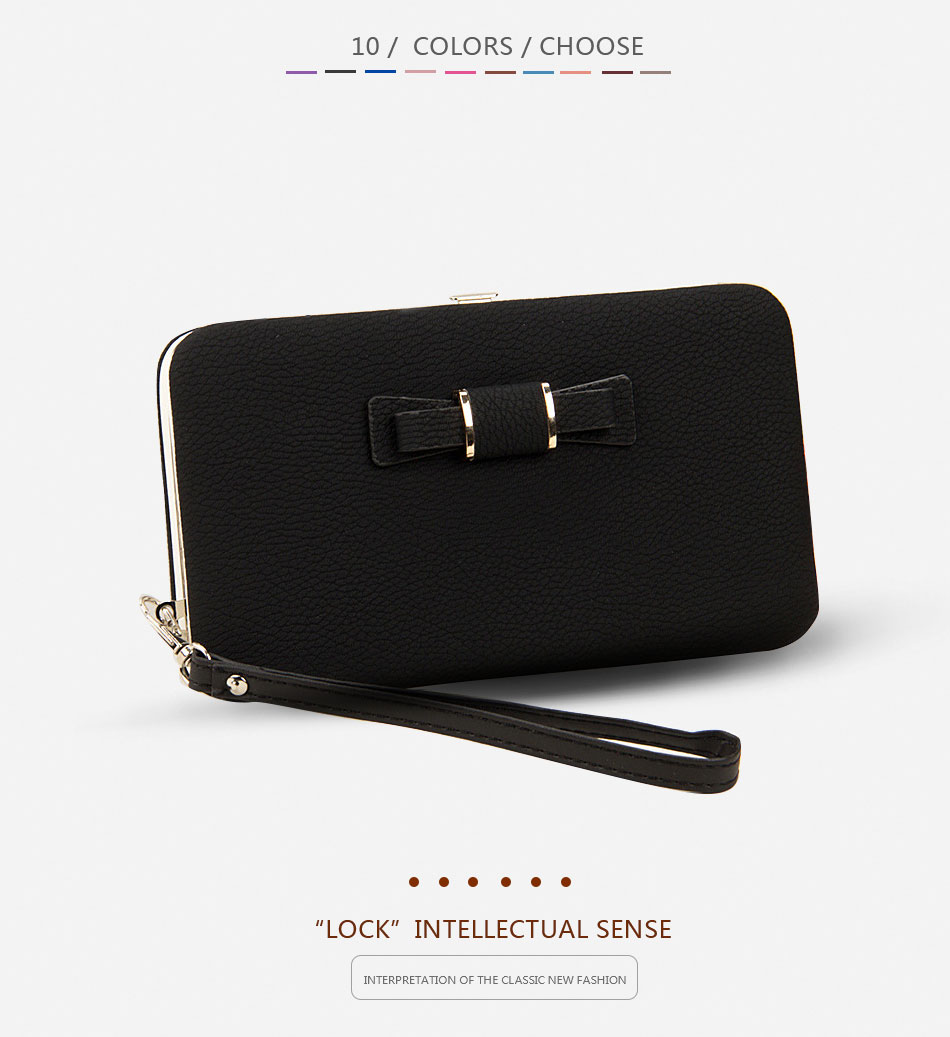 medium resolution of women wallets purses wallet female famous brand credit card holder clutch coin purse cellphone pocket gifts for women money bag b156