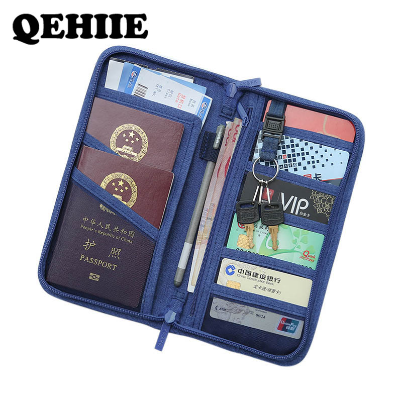 New Passport  Travel Document Passport Holder   Holder Storage Manager  Clutch Passport Cover
