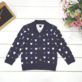 Fashion Baby Sweaters Character Button Full Sleeve Boy Girl Cotton Cardigan Infant Sweater Knitting Baby Outerwear Spring Autumn