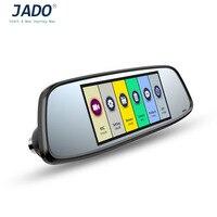JADO D580 Professional 6.86 Inch LCD Display Car Camera 1080P F2.0 Vehicle Dual Lens Rearview Mirror Video Recorder DVR