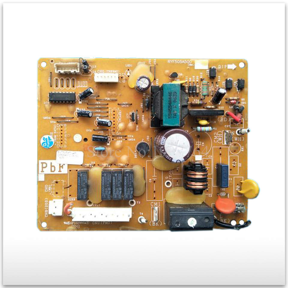 90% new for Air conditioning computer board circuit board RYF505A500 tle4729g automotive computer board