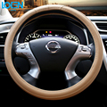 New Arrival Simple Luxury Leather Design Car Steering Wheel Cover For Honda CRV Accord Odyssey FIT City Crosstour Drop Shipping