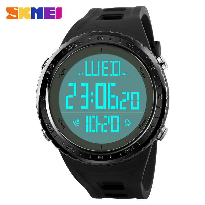 SKMEI 1310 Men Sports Digital Watch Shock Water Proof LED Countdown Chronograph Clocks Alarm Wristwatch Multi Electronic Watches