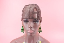 Royalty Hair Brown Color SML size Center right left U Part Glueless Full Lace Wig Cap