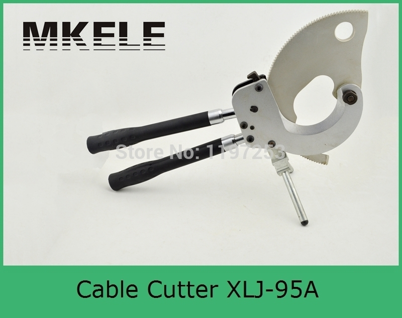 New MK-XLJ-95A Steel Cable Armored Ratchet Cutter From China Factory Clamp high quality mk xlj d 300 mechanical cable cutter large cord cordless clamp china