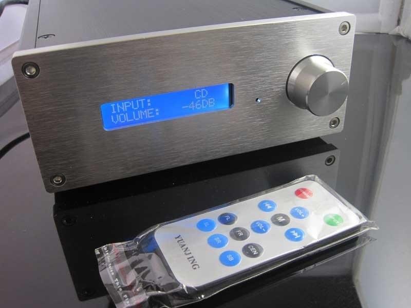 Finished PGA2311 Remote Pre-amplifier Preamp pga2311 pga2311u sop16