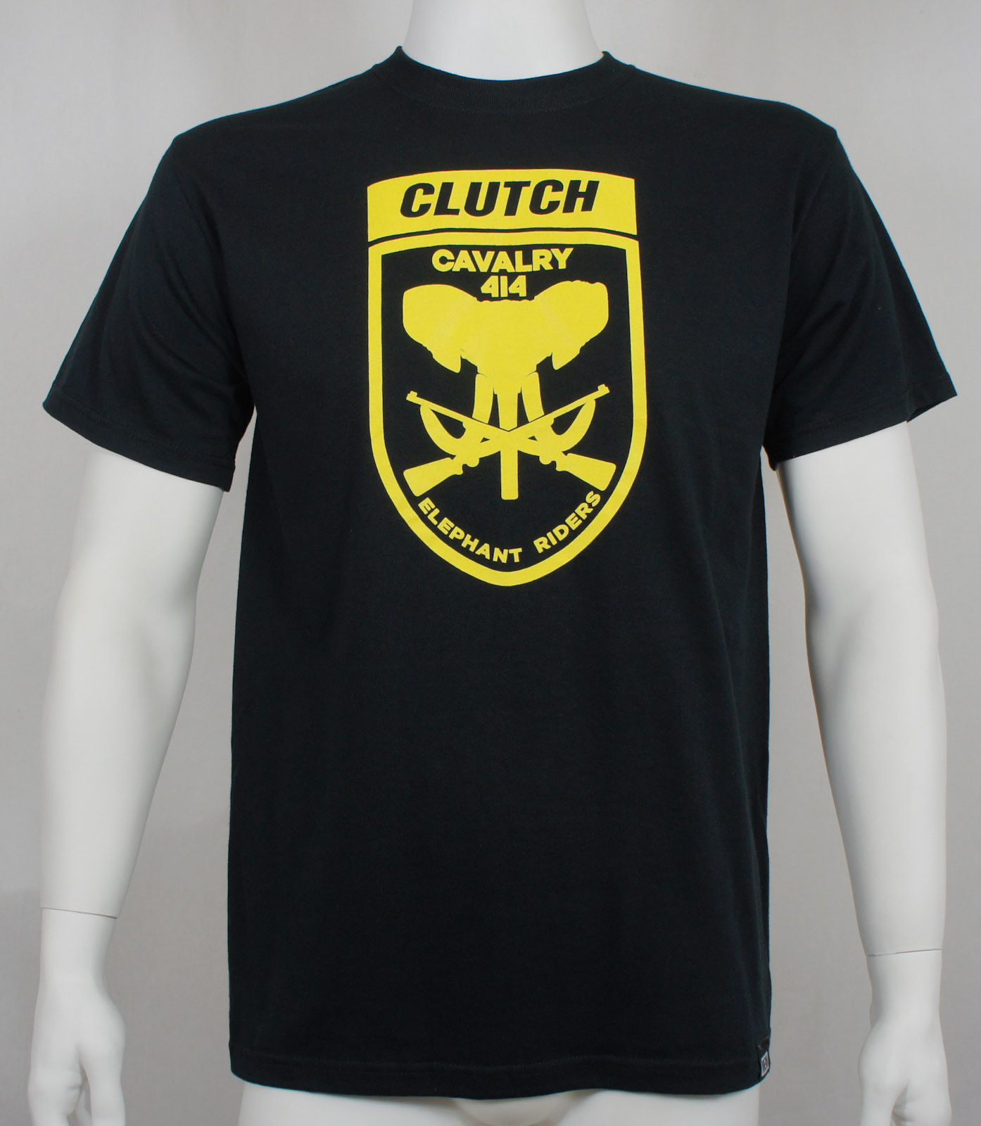 Authentic CLUTCH Band Elephant Riders Logo T-Shirt S M L XL XXL NEW