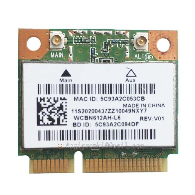 QCWB335 AR956X Wireless LAN Card Wifi + BT4.0 WCBN612AH L6 Half PCI