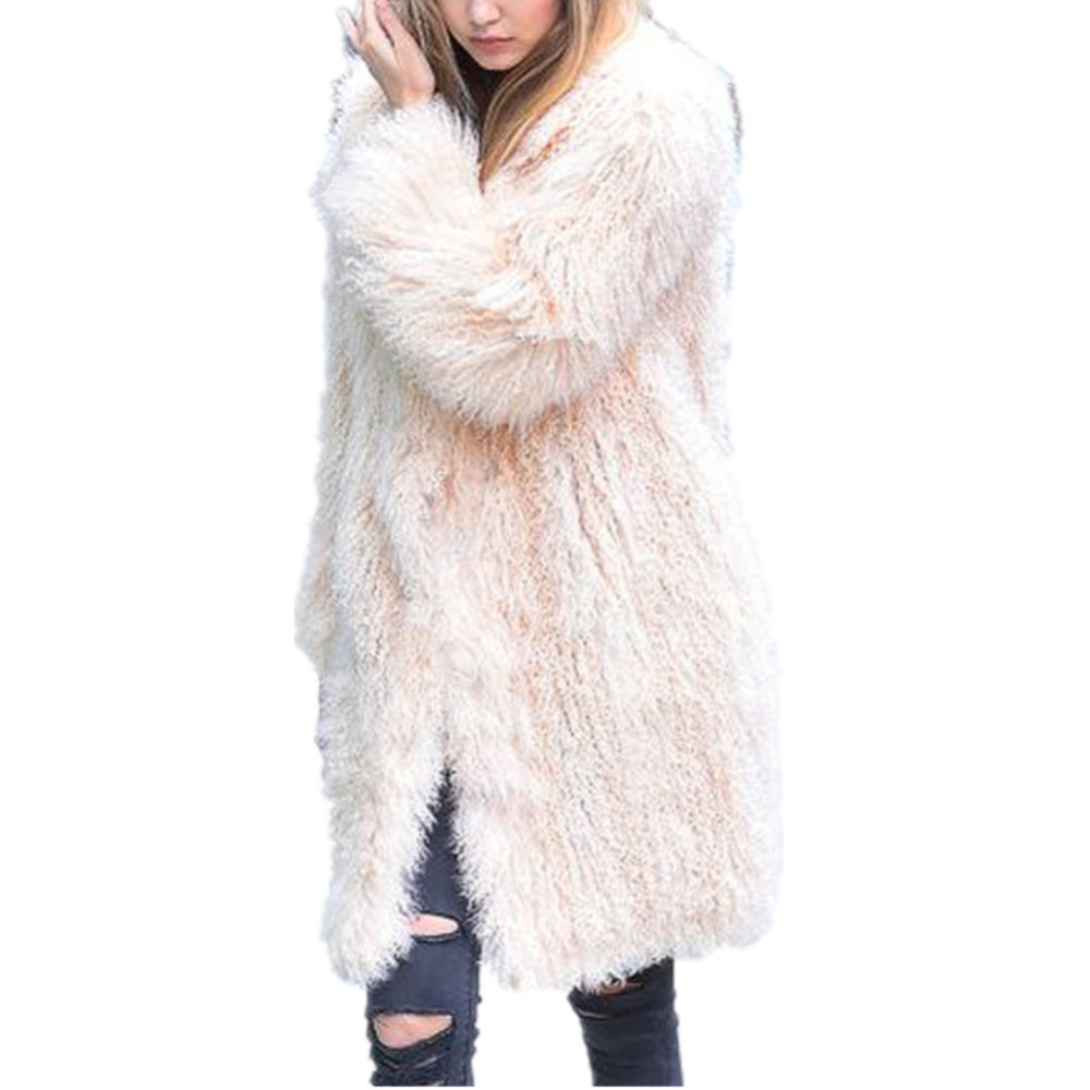 Poilu Fourrure De Épaissir Survêtement Manteau Vestes Blanc Femmes Fausse Rose Fox Long Hiver Colly Lisa Blanc En Manteaux Chaud rose Pardessus Fluffy UYBAq0