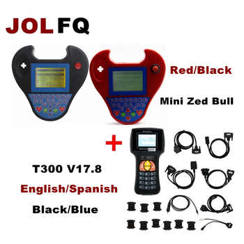 2018 Auto car Key Programmer T300 T-300+ V17.8 English/Spansih and mini Smart zed bull Key Programmer OBD2 CAR key code reader - SALE ITEM Automobiles & Motorcycles