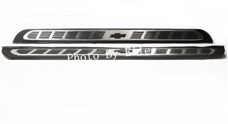Мировая премьера! Высококачественная нержавеющая сталь Бег шаг в сторону доски Nerf бар для Chevrolet Trax 2013