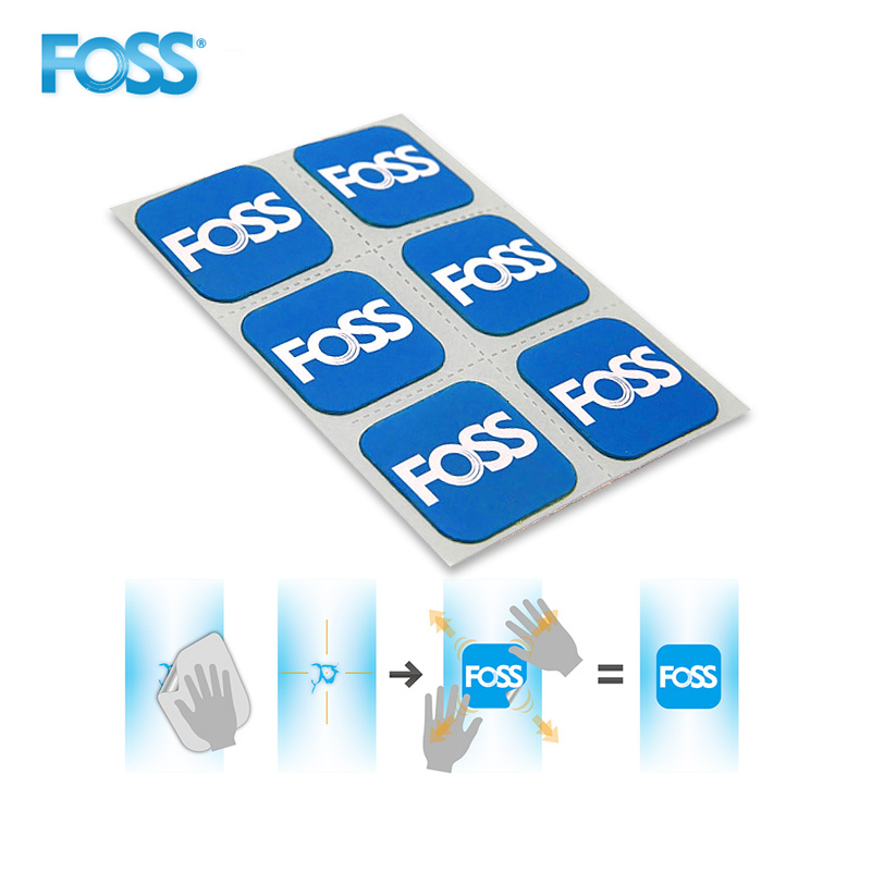 FOSS 6pcs/Set Bicycle Tire Patch Repair Tool MTB Road Bike Tube Repair Pad Tool Inner Parches Bicicleta Bicycle Repairing Tool
