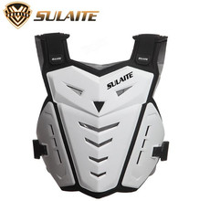 SULAITE Motorcycle Riding Chest Armor Back Protector Motocross Off-Road Racing Vest