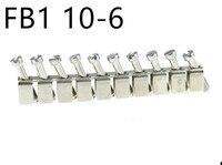 2 PCS FB1 10-6 กลาง contact  short circuit matchingr Din Rail Terminal Blocks UK-2.5B  UK5N UDK4 UKK5
