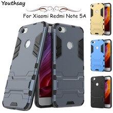 For Xiaomi Redmi Note 5A Case Luxury Robot Silicone Kickstand Cover Prime 7