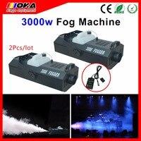 2Pcs/lot 3000W Fog Machine Professional Hazer Smoke Machine For Stage DJ Shows