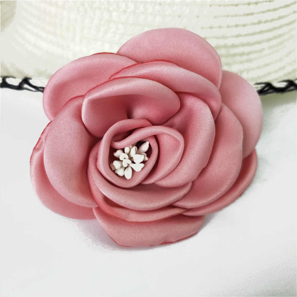 Hot sale Rose Artificial Flower Head for Wedding party  Home Room Decoration Marriage Shoes Hats Accessories Silk Flower DIY