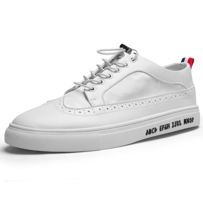 Hommes Respirant Chaussures Blanc Mode White Air Mâle Homme Plein Chaussure Tenis Masculino Richelieu Zapatillas En Appartements Casual Adulto CeWEdQorxB