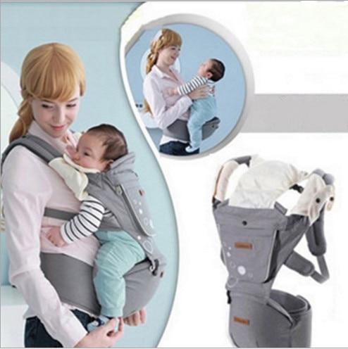 ФОТО ON SALE! New Ergonomic Baby Carrier Cotton Newborn Wrap Sling Baby Backpacks Adjustable Kids Sling Shoulder Carriage