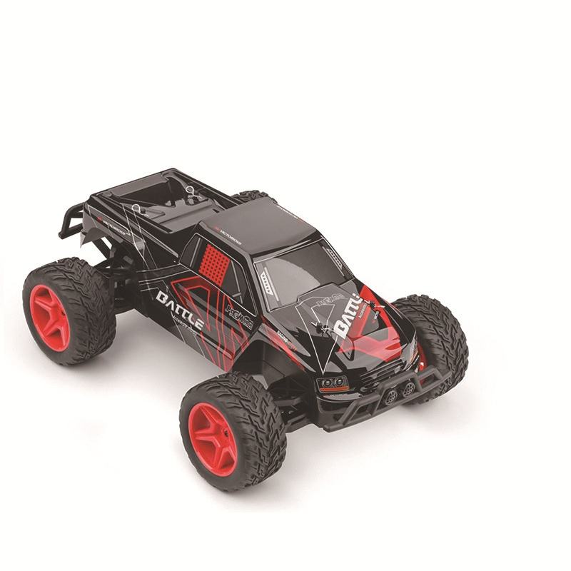 Electric Remote Control Drift Big Foot Truck Model 1:10 Scale 44CM 2.4G 35KM/H High Speed RC Truck with shock system Kids Toy childred 1 32 detachable kids electric big rc container truck boy model car remote control radio truck toy with sound