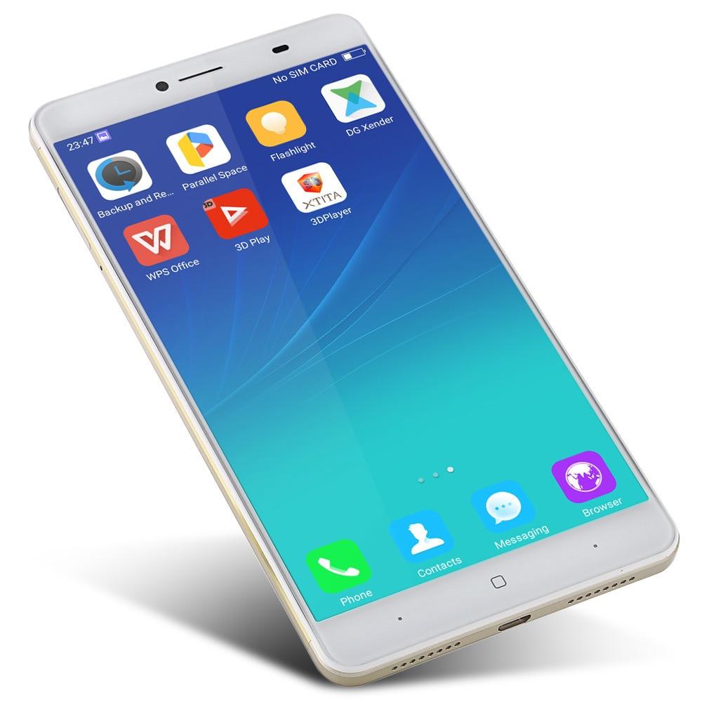 Ursprüngliche Doogee Y6 Max 3d 65 Zoll Smartphone Android 60