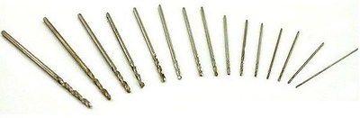 New 8pcs HSS Micro Twist Drill Bits Mini Set 0.3 mm -1.0 mm  For Dremel  PCB & Model Making Jewellery Craft Hobby Airfix 13pcs lot hss high speed steel drill bit set 1 4 hex shank 1 5 6 5mm free shipping hss twist drill bits set for power tools