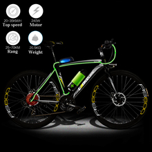 2017 motorized electric bicycle modified 700c electric road ebike  power lithium battery electric road bicycle  Brakingprotectio