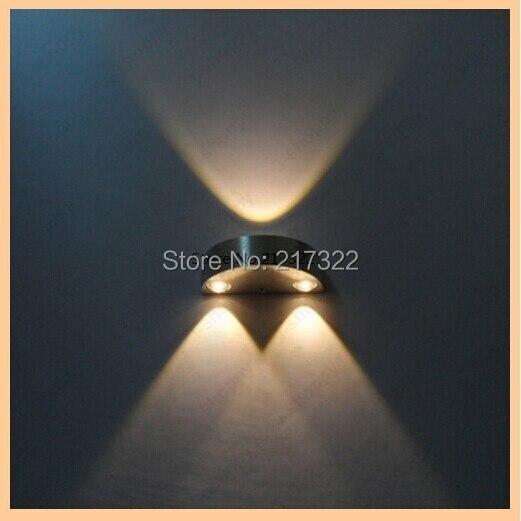 Nástěnné LED svítidlo Nástěnné svítidlo Svítidlo Lampa Žárovka Teplá Bílá NOVINKA 3W nástěnná lampa