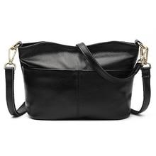Hot Sale 2018 Casual Women Bags Genuine Leather Handbags Female Large Capacity Ladies  Womens Shoulder CrossBody