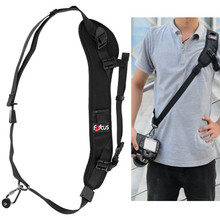Focus F-1 Quick Rapid Carry Speed Sling Belt Strap For Dslr Camera 7D 600D Mark II D800 A77 5D Mark III 60D 6D free shipping 95%new camera shurrer unit for sony slt a77 ii a77m2 a77 m2 shutter box plate replacement repair part