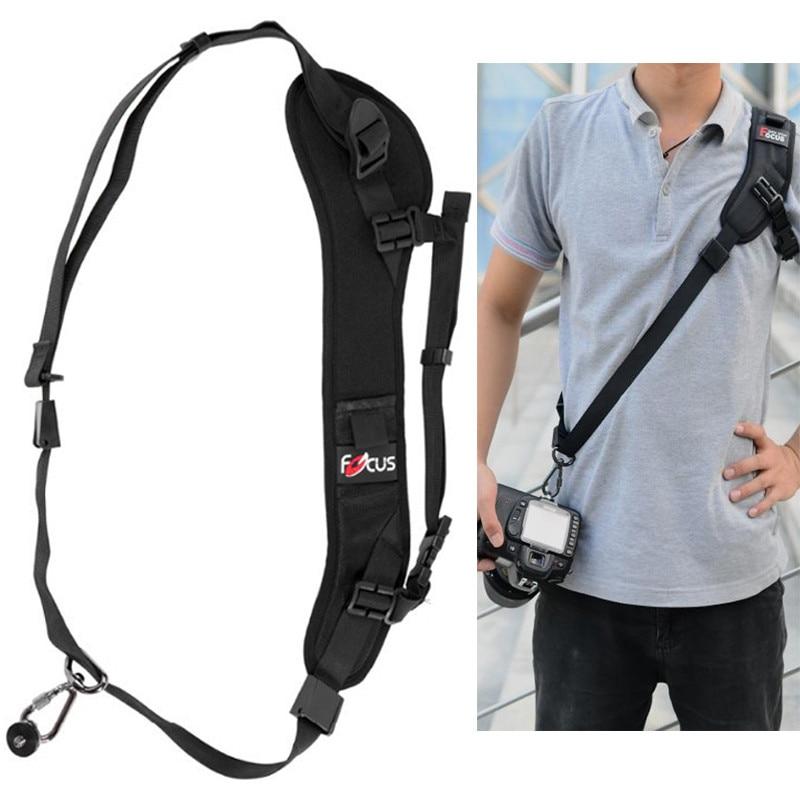 F-Photo Camera Rapida Rapid Carry Speed Sling Belt Strap Holder per Canon 5 DIII 7DII 650D 80D per Nikon D600 D750 D5300 DSLR