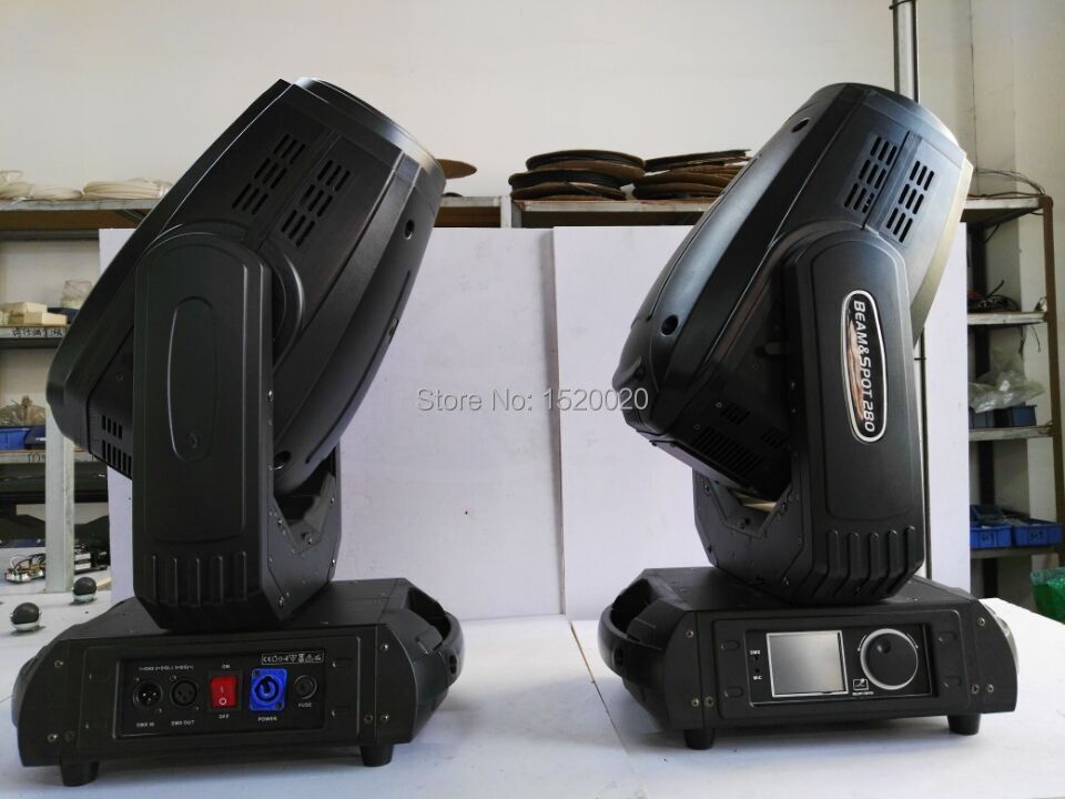 2pcs 10r 280w Robe beam wash moving head light for stage disco party