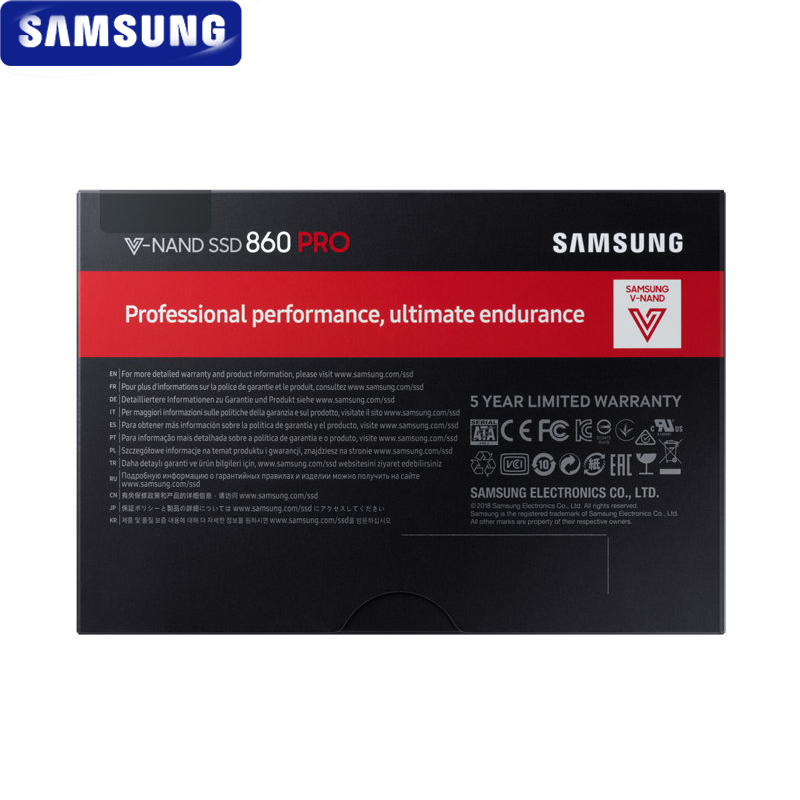 Image 5 - SAMSUNG SSD 860 PRO 256GB 512GB Internal Solid State Disk HDD Hard Drive SATA3 2.5 inch Laptop Desktop PC MLC disco duro 1TB 2TB-in Internal Solid State Drives from Computer & Office