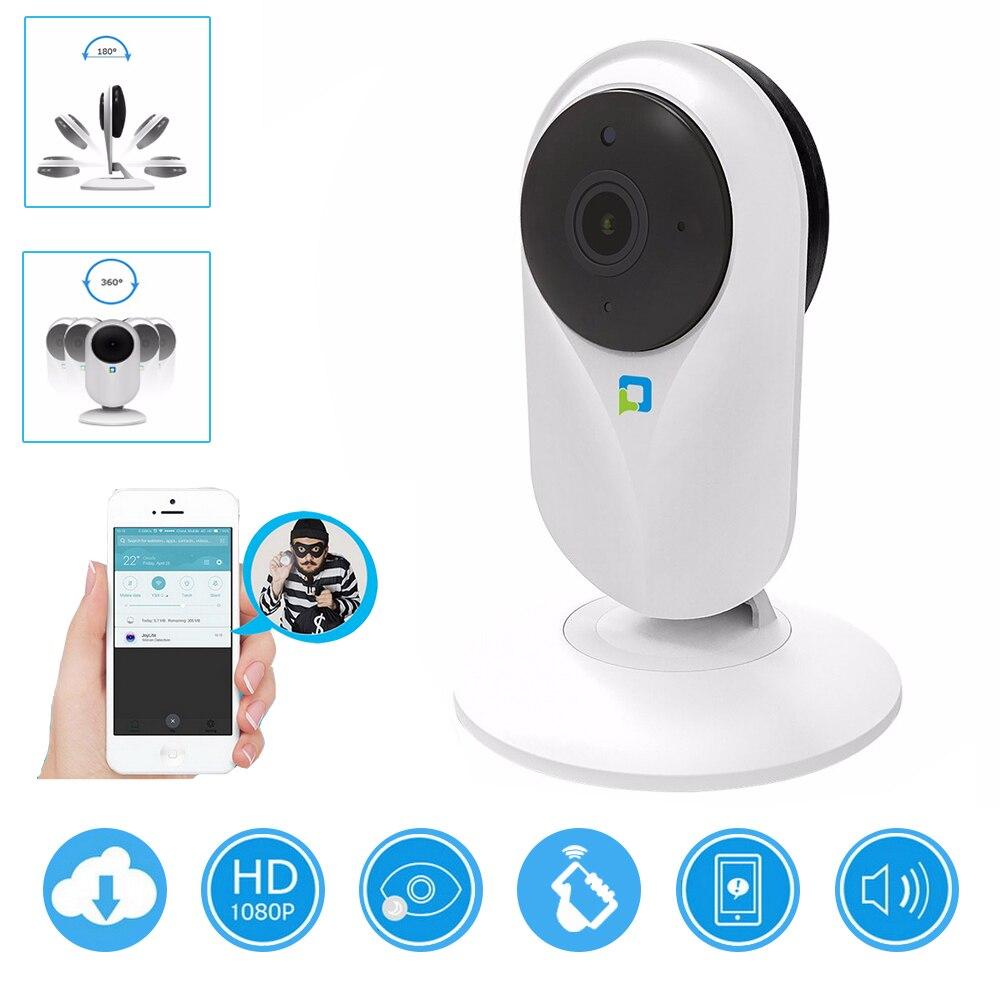 Almacenamiento en la nube de hogar de la cámara de seguridad IP de 720 p inalámbrica Wi-Fi inteligente registro de Audio de vigilancia Monitor de bebé HD cámara de visión nocturna