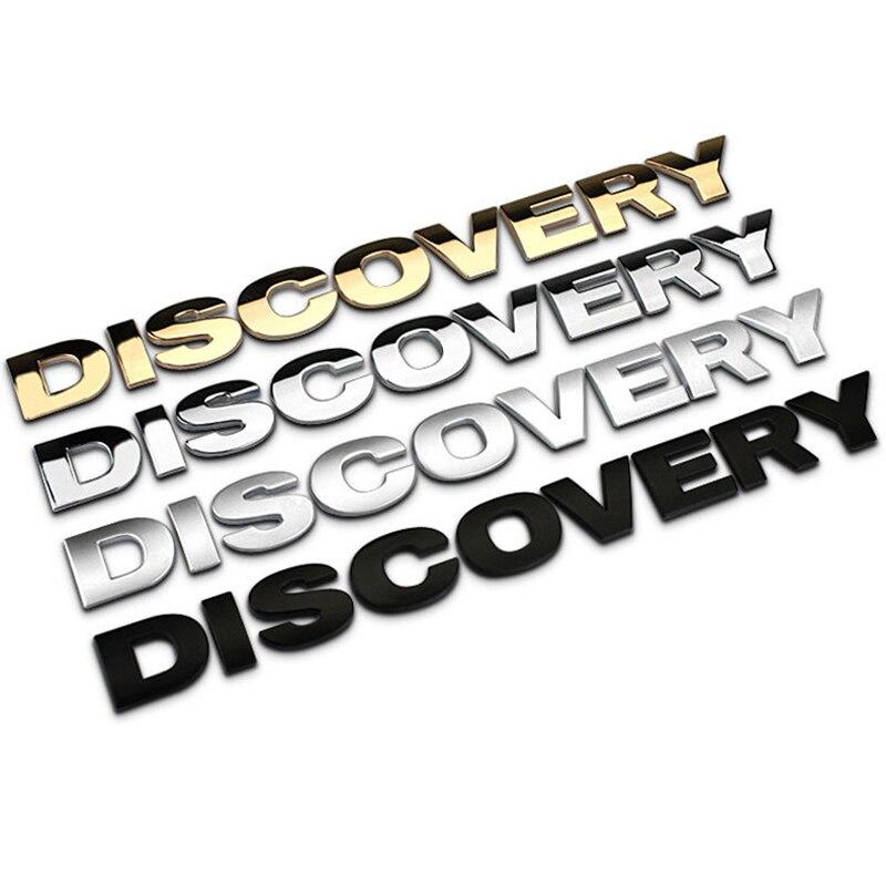 Autocollant insigne de capot de style de voiture pour Land Rover Discovery 1 2 3 4 5 Sport 2015 2016 2017 accessoires de voiture